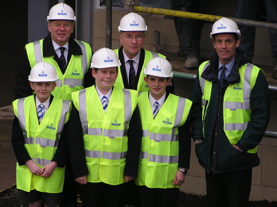 Topping Out at Edinburgh Academy